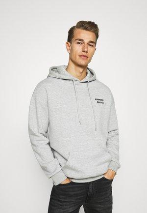 Bluza z kapturem - mottled light grey