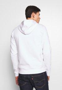 Pier One - Zip-up hoodie - white - 2
