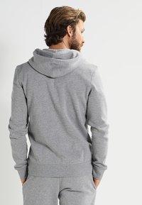 Pier One - Zip-up hoodie - grey melange - 2
