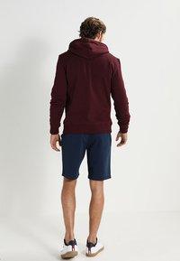 Pier One - Zip-up hoodie - bordeaux melange - 2