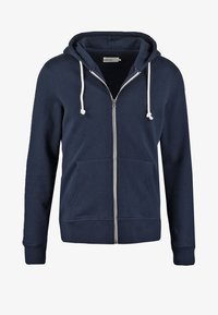 Pier One - veste en sweat zippée - navy - 5