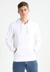 Pier One - Hoodie - white - 0