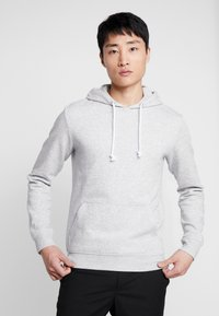 Pier One - Hoodie - light grey melange - 0
