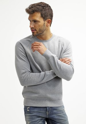 Sweater - mid grey melange