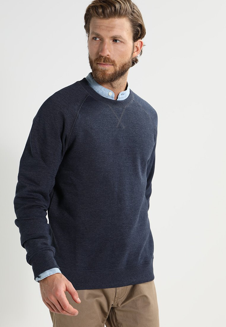 Pier One - Sweatshirt - dark blue melange
