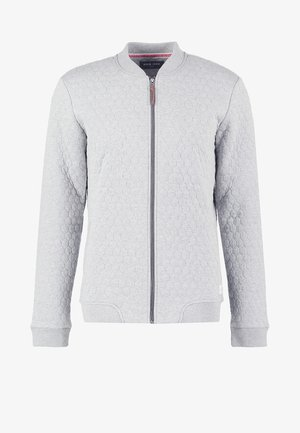 Hettejakke - light grey melange