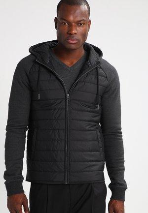 Veste mi-saison - mottled dark black