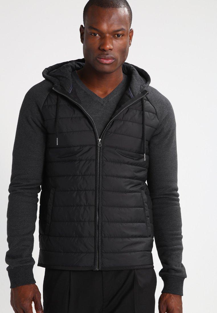 Pier One - Chaqueta de entretiempo - mottled dark black