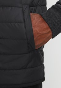 Pier One - Chaqueta de entretiempo - mottled dark black - 4