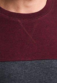 Pier One - Sweatshirt - mottled bordeaux - 3