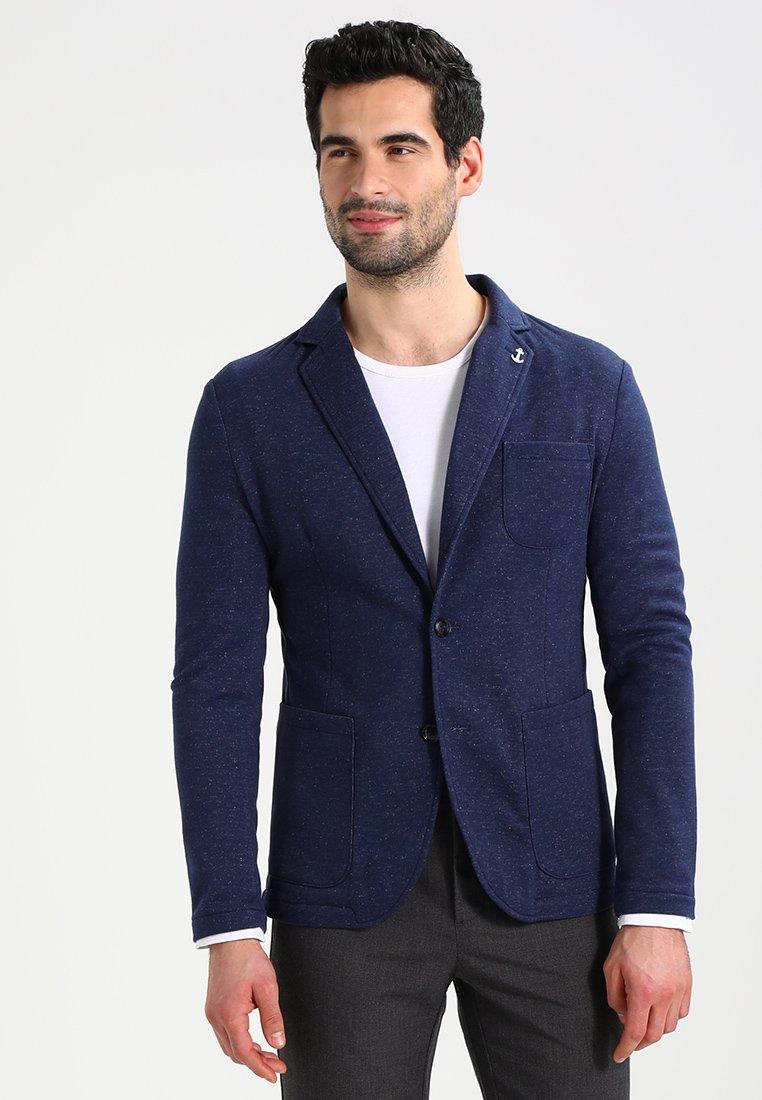 Pier One - Blazer jacket - mottled blue