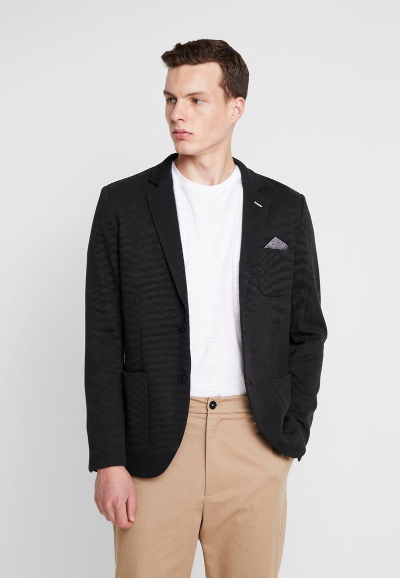 Pier One - Blazer jacket - black