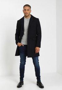 Pier One - Classic coat - dark blue - 1