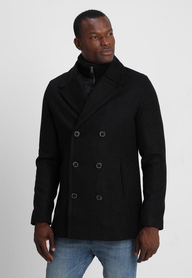 Pier One - Cappotto corto - black