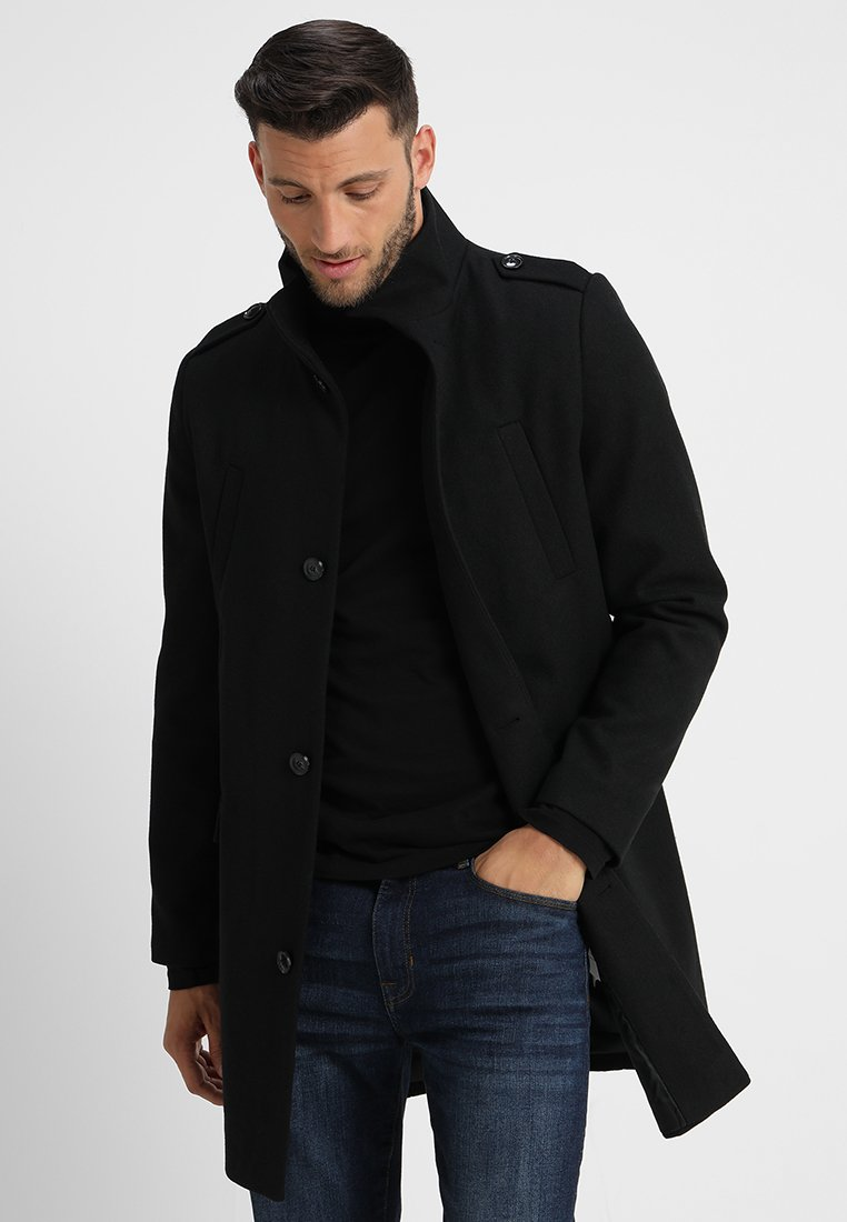 Pier One - Short coat - black