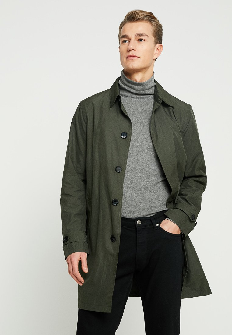 Pier One - Manteau classique - dark green