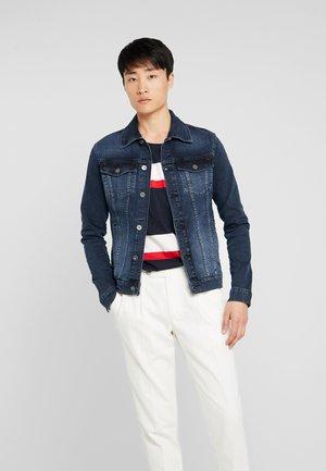 Giacca di jeans - blue black denim
