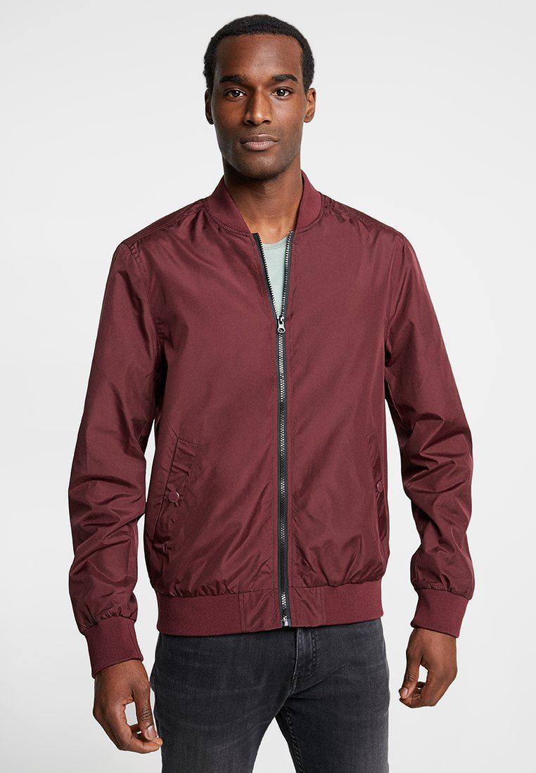 Pier One - Bomber Jacket - bordeaux