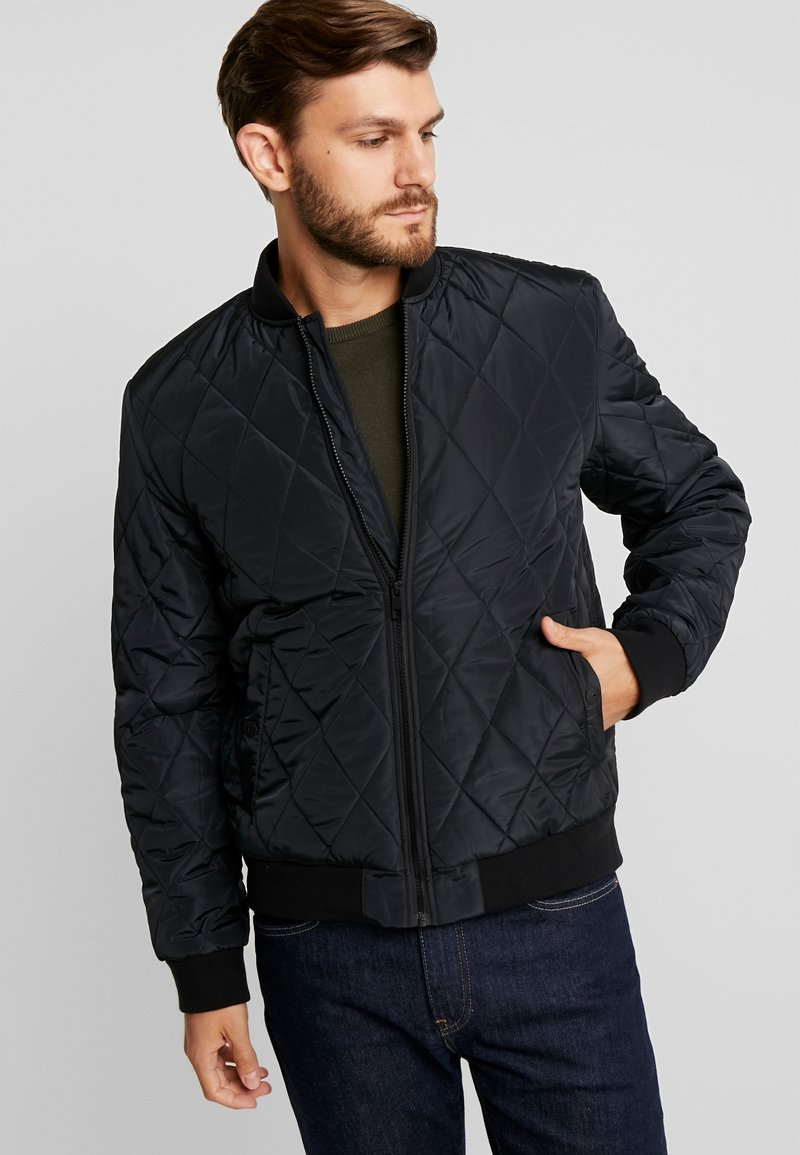 Pier One - Bomber bunda - black