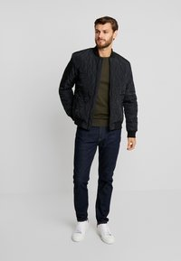 Pier One - Bomber bunda - black - 1