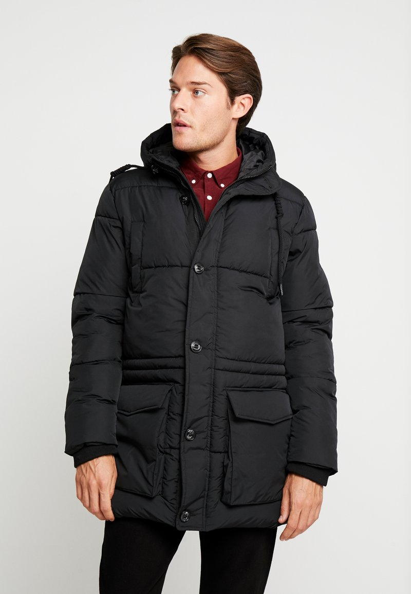 Pier One - Winter coat - black