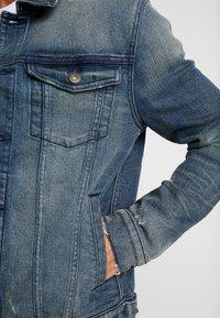 Pier One - Džínová bunda - dirty denim - 4