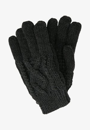 Guantes - mottled dark grey