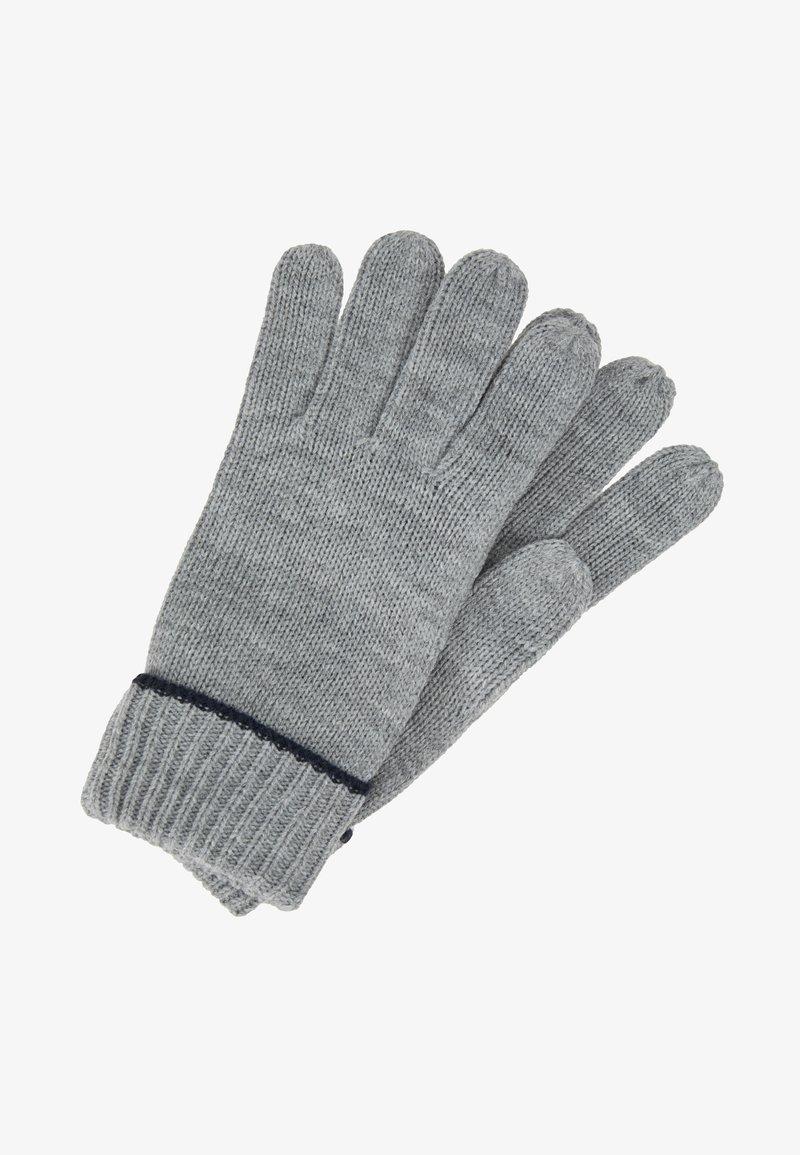 Pier One - Gloves - grey/dark blue