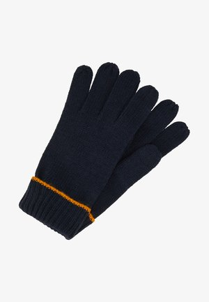 Gloves - dark blue/mustard