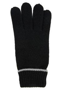 Pier One - Gants - black/light grey - 1