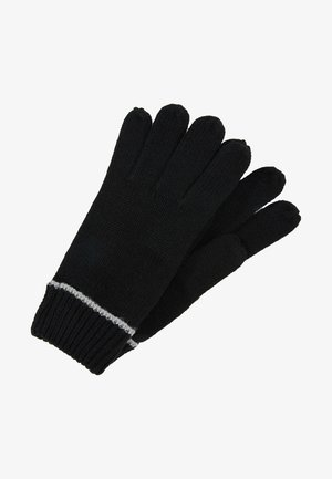 Guantes - black/light grey