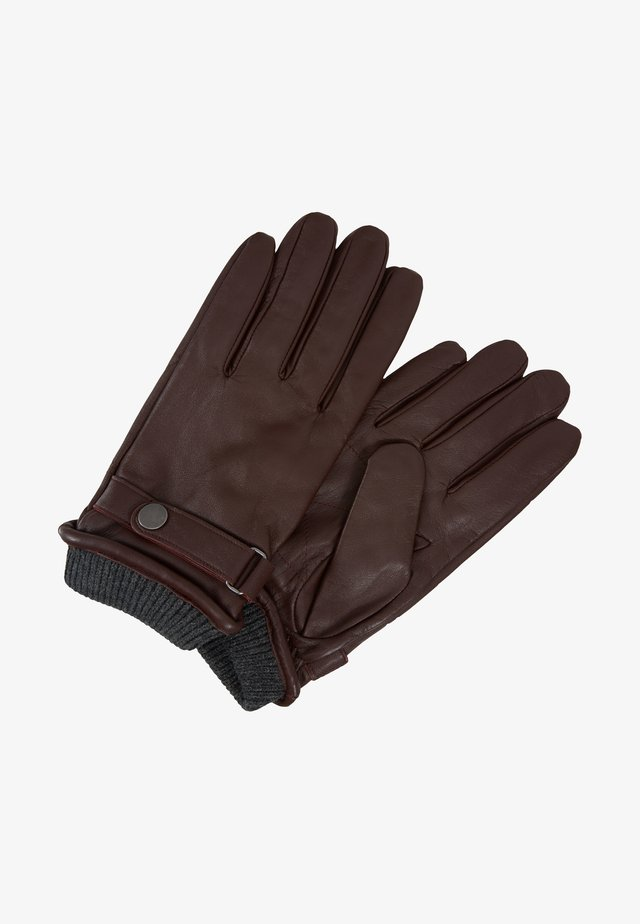 Fingerhandschuh - dark brown