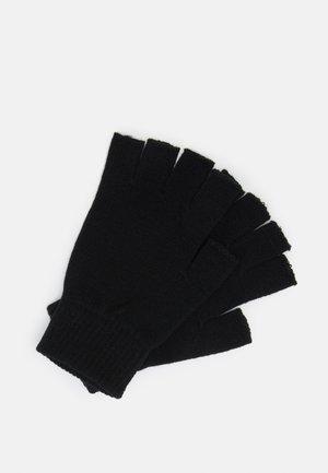 Guanti mezze dita - black