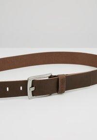 Pier One - Belt business - dark brown - 4