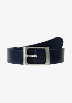 LEATHER - Bælter - dark blue