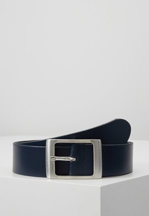 LEATHER - Vyö - dark blue