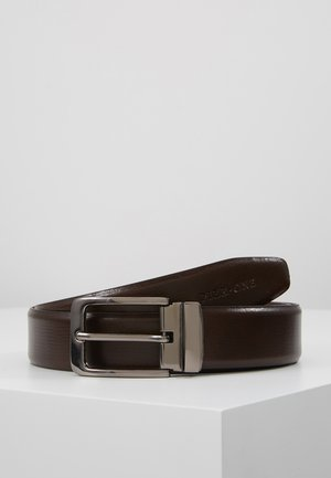 LEATHER - Pásek - brown