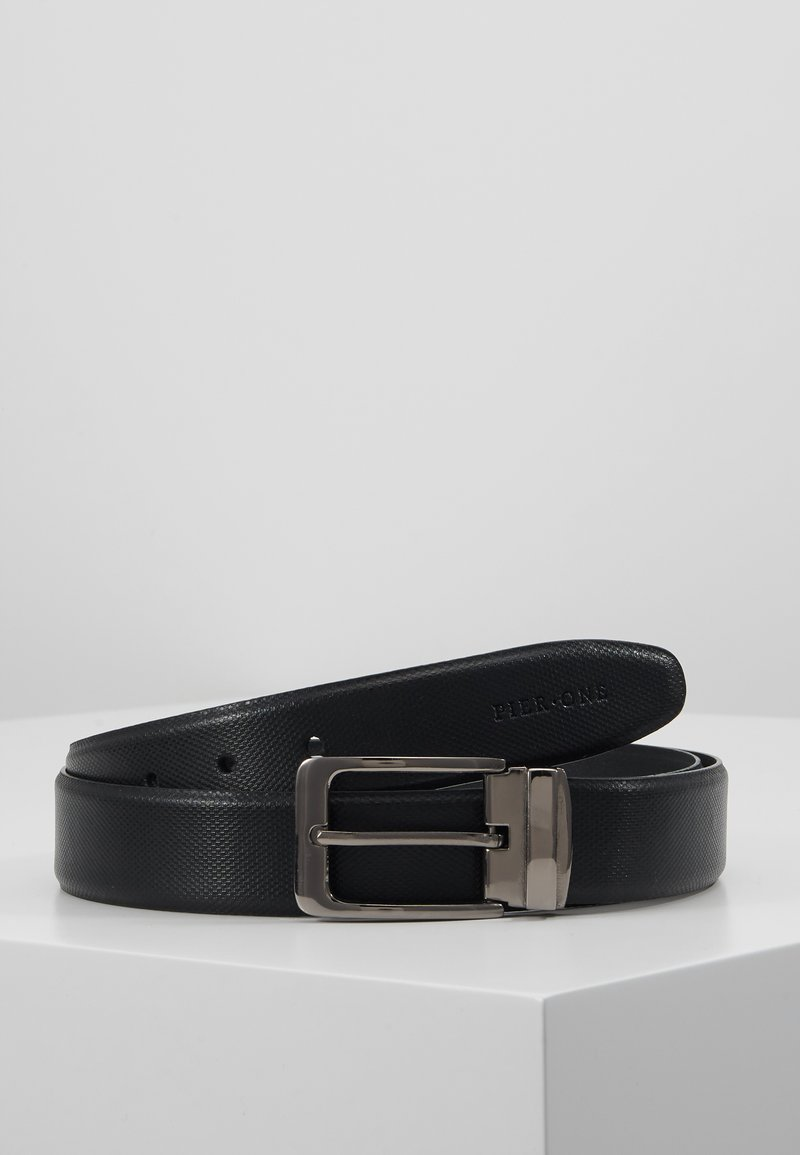 Pier One - LEATHER - Pásek - black