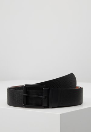 Belt - black/cognac