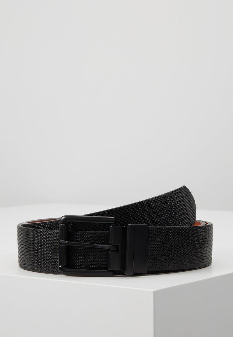 Pier One - Cinturón - black/cognac