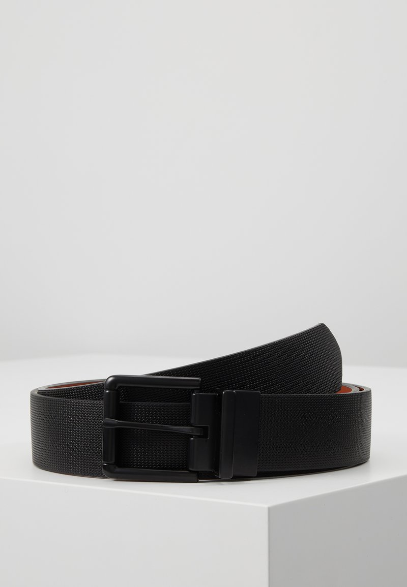 Pier One - Belt - black/cognac