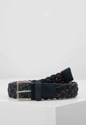 Belt - dark blue/cognac