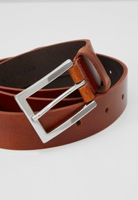 Pier One - LEATHER - Belt - cognac