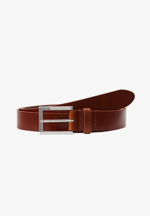 LEATHER - Pasek - cognac