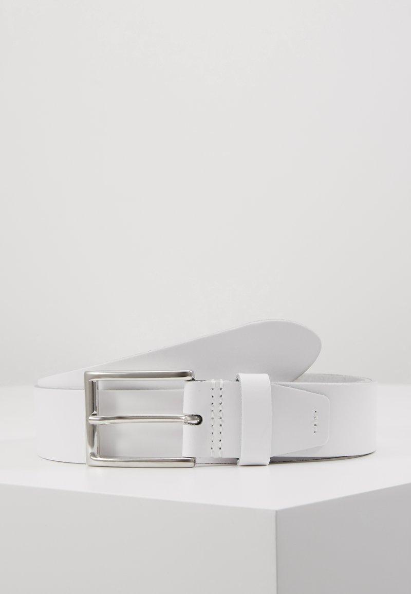 Pier One - LEATHER - Riem - white