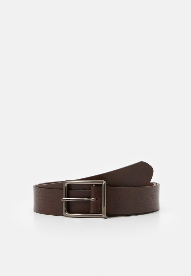 LEATHER - Gürtel - dark brown