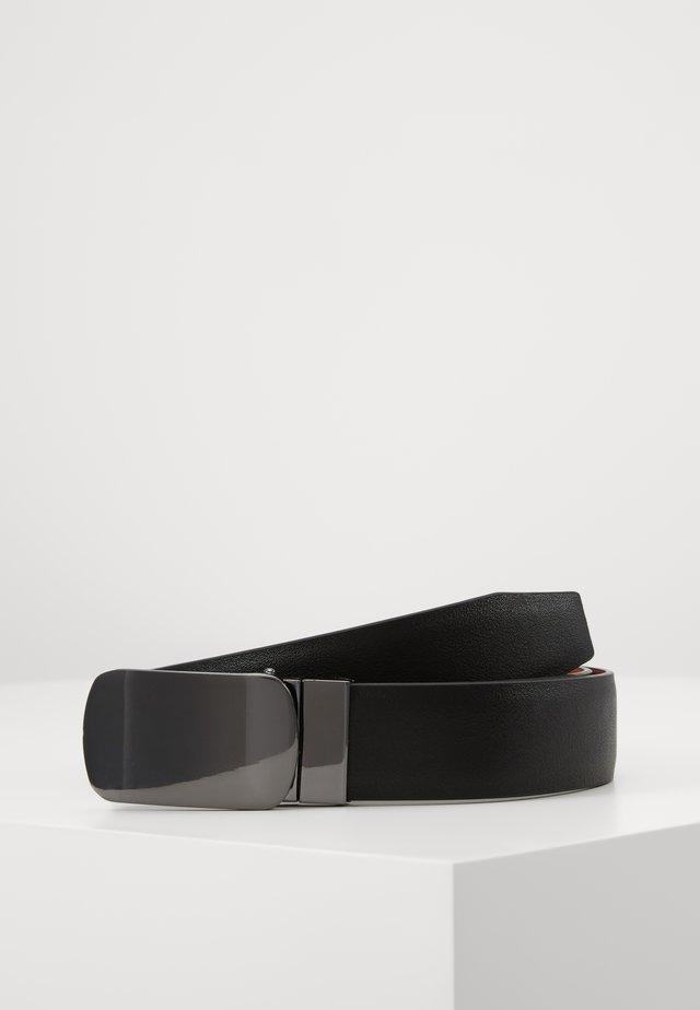 SET - Belte - black/cognac