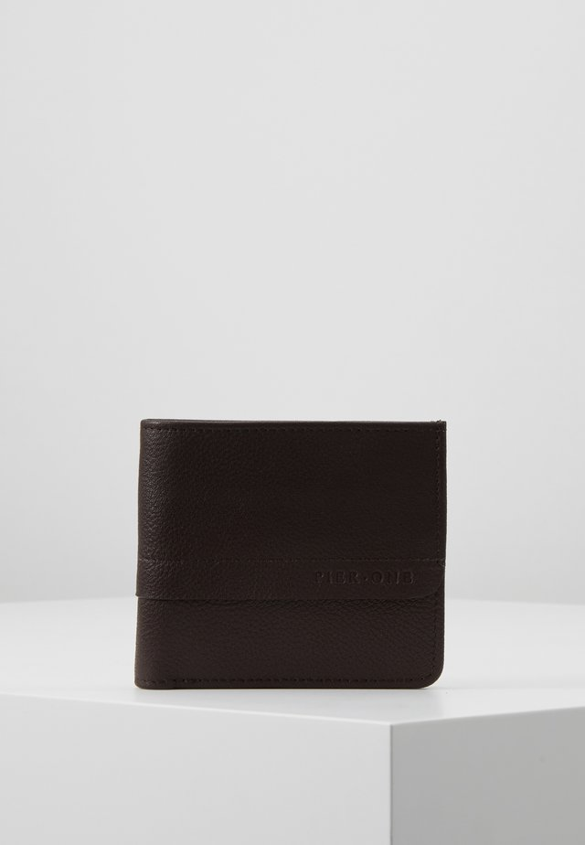 LEATHER - Portafoglio - dark brown