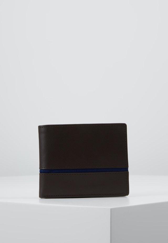 LEATHER - Geldbörse - dark brown