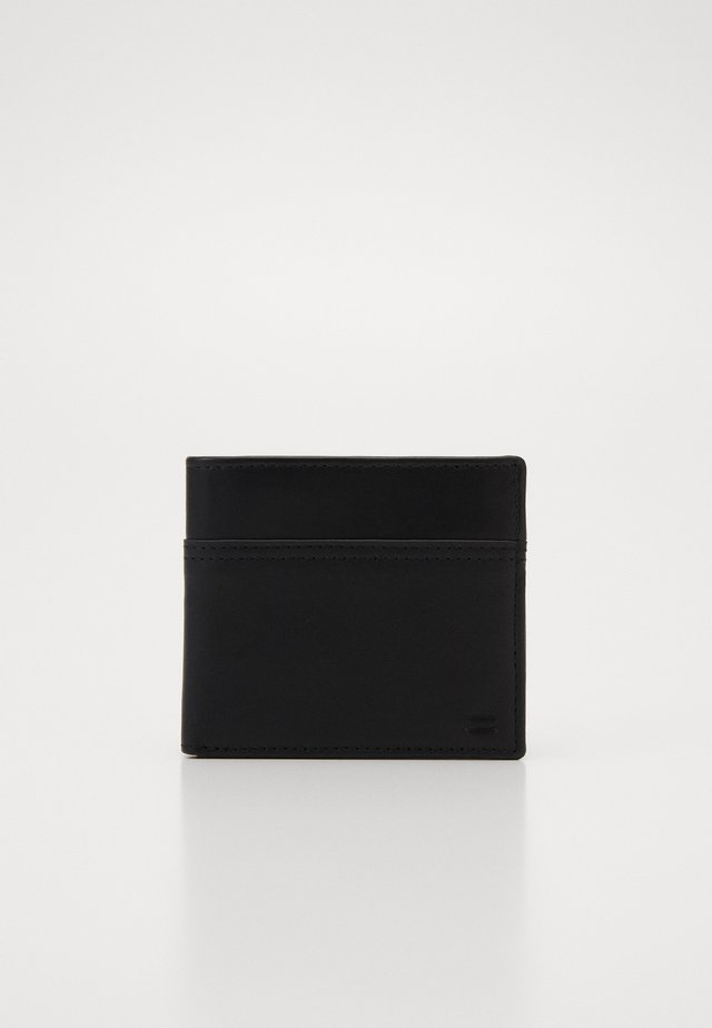 LEATHER - Lompakko - black